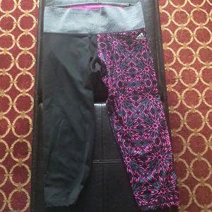 Capri adidas tights